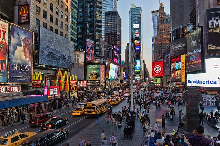 Best Places to Visit in New York City - Times Square