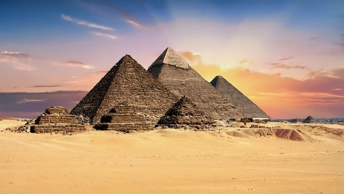 Most Amazing Ancient Ruins in the World - Pyramids of Giza