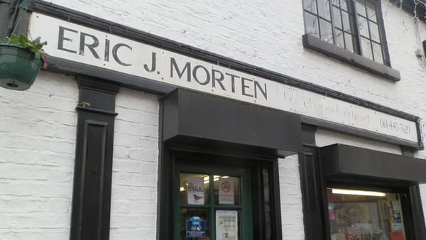 E J Morten Booksellers