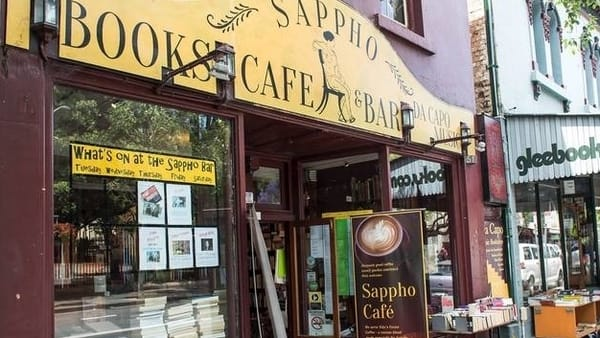 Sappho Books, Cafe & Bar