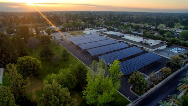 SunPower Solar Carport Solutions is one of the Most Innovative Green Products