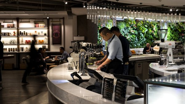 Peet's Coffee Unveils Its First-Ever International Coffeebar in Shanghai