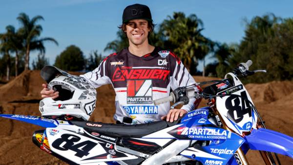 Scott Champion: 450SX AMA Supercross Series rider sponsored in 2018 by Partzilla.com