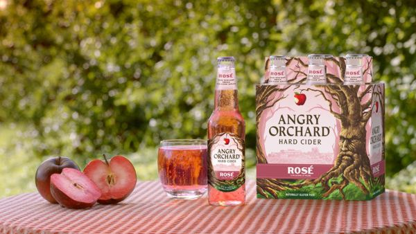 Made with rare red flesh apples contributing to its rosy hue, Angry Orchard Rosé is an unconventional cider that instantly elevates any occasion