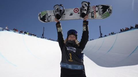 PyeongChang Olympic gold medalist Chloe Kim (USA) will defend her Burton U.S. Open Snowboarding Championships halfpipe gold medal at this year's 36th annual event in Vail, Colorado, March 5-10. Photo: Gabe Leureux for Burton Snowboards.