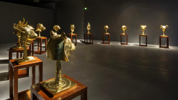 Heather James Fine Art will loan Chinese artist Ai Weiwei's Circle of Animals / Zodiac Heads: Gold to the Farnsworth Art Museum in Rockland, Maine, on view from March 24 – December 30, 2018.