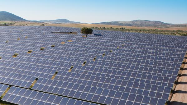 ALTEN Energías Renovables PV power plant in Spain (PRNewsfoto/ALTEN Africa)