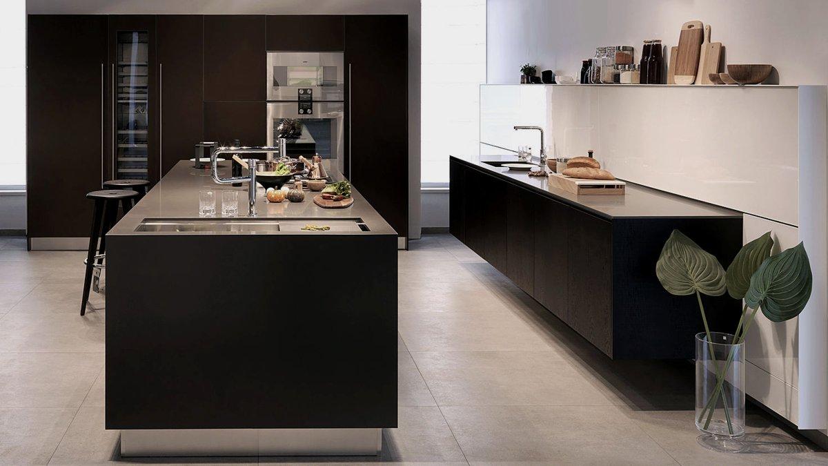 black style kitchen ideas for modern homes - home - bontena brand