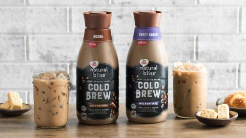 COFFEE-MATE® natural bliss® Cold Brew Coffee is now available at retailers nationwide. With all-natural high quality ingredients, this beverage is the perfect solution for a premium coffee shop experience at home or work. For more information, visit NaturalBliss.Coffeemate.com.