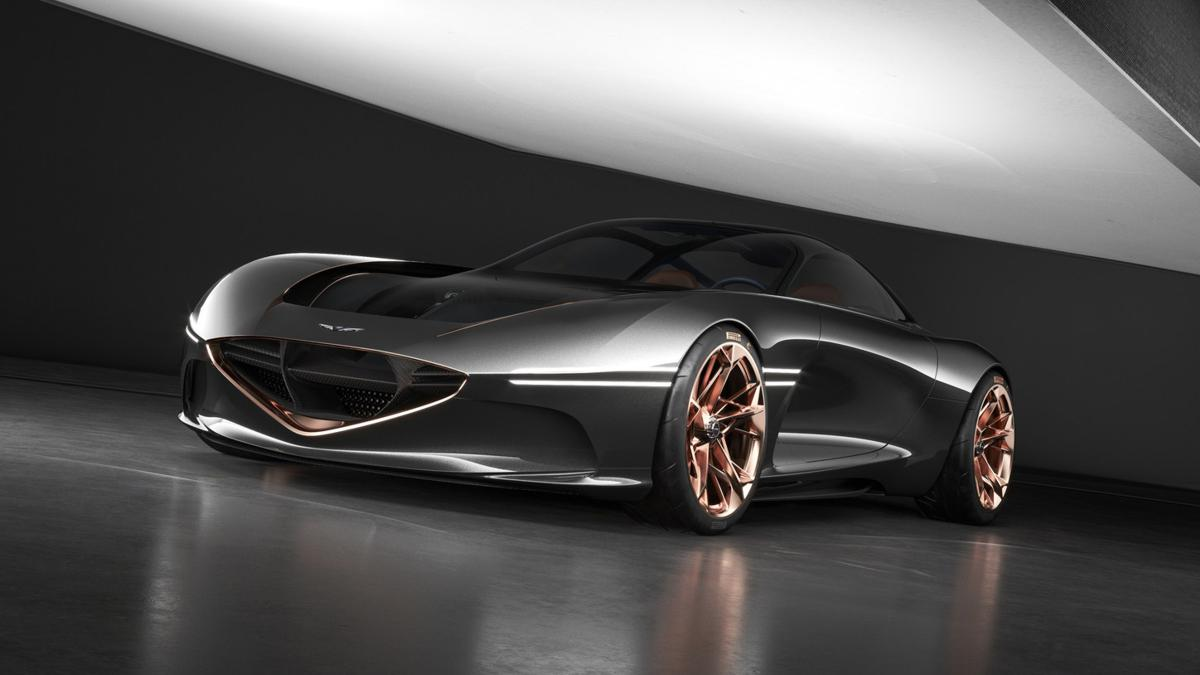 Genesis Essentia all-electric, high-performance Gran Turismo concept vehicle to make its concours debut at Concorso d'Eleganza Villa d'Este.