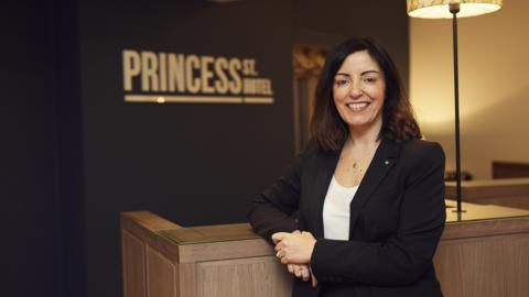 Jane O'Mahony, General Manager of Princess Street Hotel