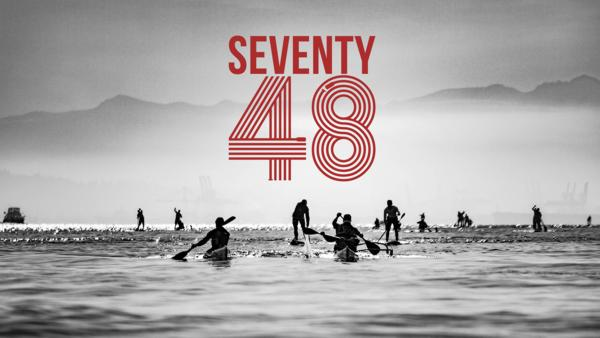 SEVENTY48 is a new sea race that challenges athletes to paddle, pedal or row 70 miles in 48 hours. Monday's race from Tacoma to Port Townsend, Washington will have 123 teams in kayaks, paddleboards and other human-powered watercraft; no sails, motors or support allowed.