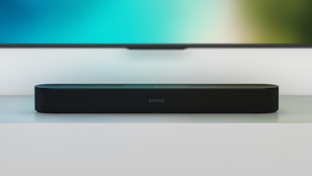 Meet Sonos Beam – The world's most versatile smart speaker for both TV and Music (CNW Group/Sonos)