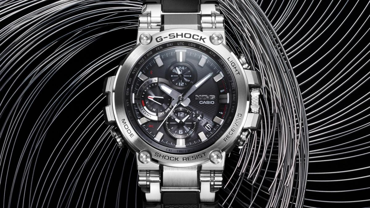 Casio G-SHOCK's First-Ever Connected MT-G Timepiece, The MTGB1000-1A