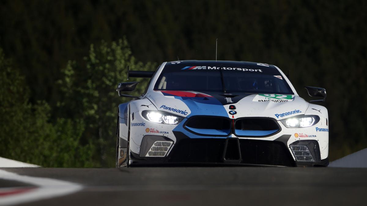 Spa- Francorchamps (BEL) 03rd May 2018. BMW Motorsport, FIA WEC 6 Hours of Spa- Francorchamps, Antonio Felix da Costa (PRT) and Tom Blomqvist (GBR), BMW M8 GTE No. 82.