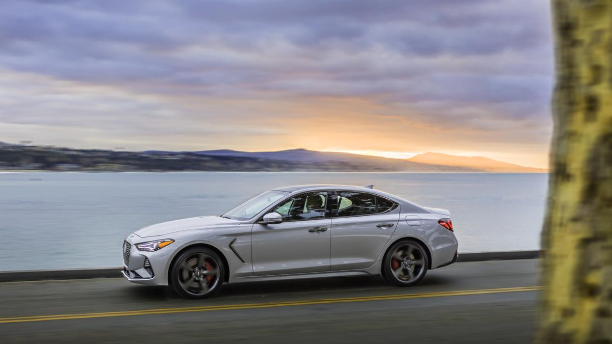 2019 Genesis G70 luxury sport sedan, designed to perform.