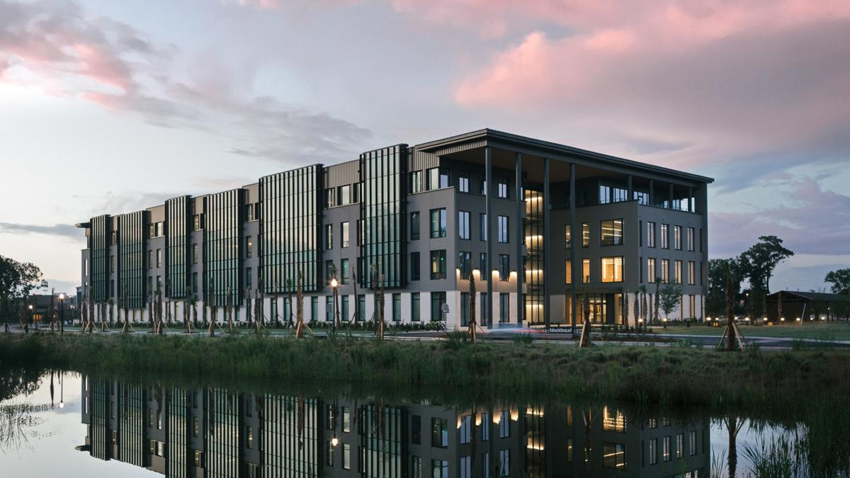 Blackbaud's state-of-the-art, eco-friendly world headquarters to drive disruptive innovation and impact for global good at increased scale (PRNewsfoto/Blackbaud)