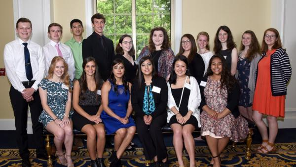 2018 Notre Dame Federal Credit Union Scholarship Recipients (PRNewsfoto/Notre Dame Federal Credit Union)