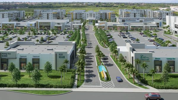 Giles Capital Group, Rosemurgy Properties and Schmier Property Group in partnership with Wheelock Street Capital will break ground this month on Uptown Boca Raton. The $200 million mixed-use development includes 150, 591 sq. ft. of upscale retail and 456 Class A luxury apartments.