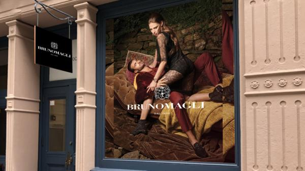 Rendering of Bruno Magli SoHo concept boutique in New York City