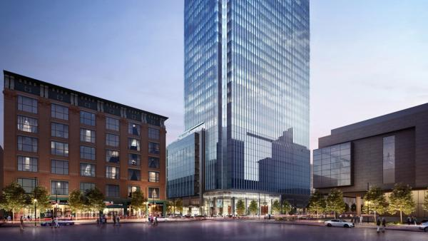 A joint venture led by Patrinely Group and USAA Real Estate today announces that construction has officially commenced on Block 162, a 595,000-square-foot office building, located at 675 15th Street between Welton and California Streets in downtown Denver.