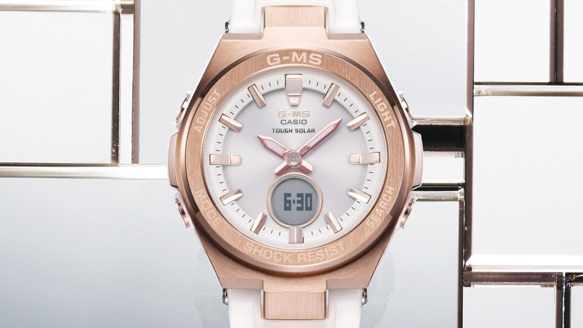 The MSGS200 Timepieces Offer Trendy Metal Details and Practical Functions