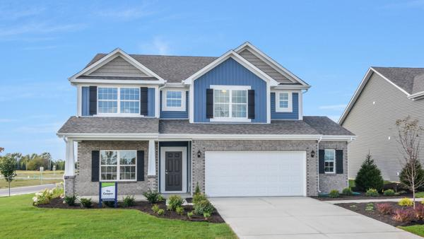 """The Cooper"" is one of nine floor plans available in Arbor Homes' Sagebrook community, located in McCordsville, Ind."