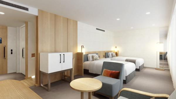 New Luxury Type Universal Design Room (47.0sqm) will be added to increase the flexibility of accommodation options for guests. (Photo: Business Wire)