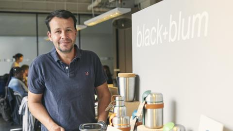 Dan Black, Co-founder and Lead Designer of Black+Blum