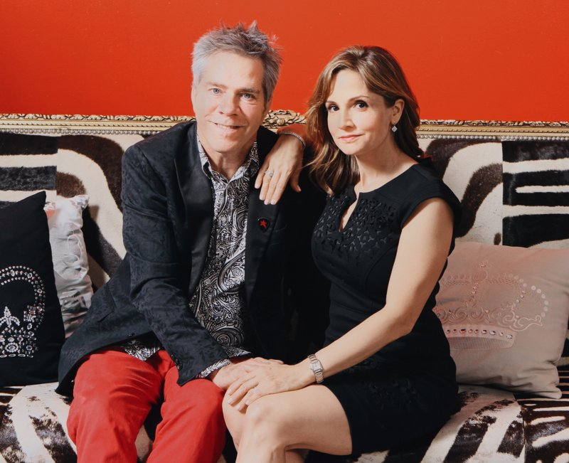 Andy Hilfiger and Kim Hilfiger. Photo credit Cedeno Photography