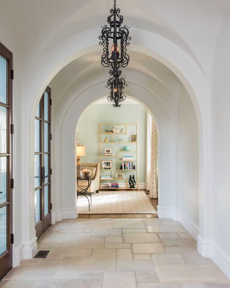 Residential Interior Archway - Photo by Jason Jones