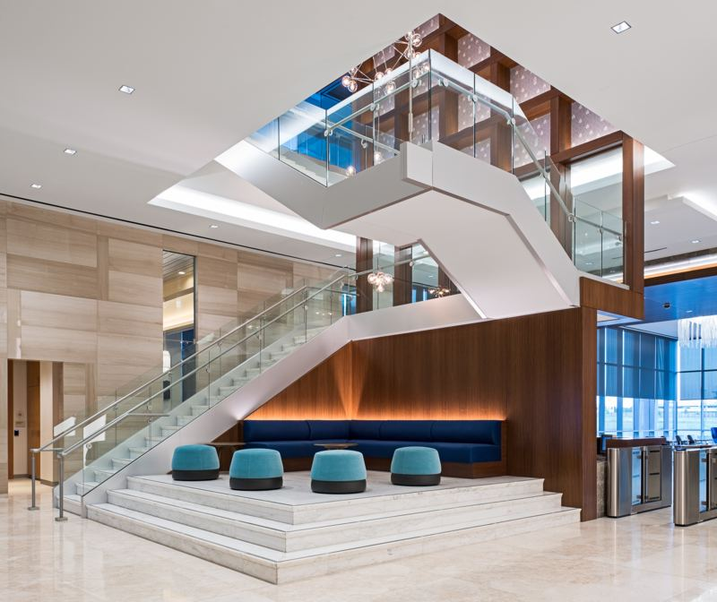 Commercial Interior Lobby - Photo by Jason Jones