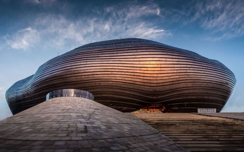 Ordos Museum, Mongolia - photo by Terry Wier