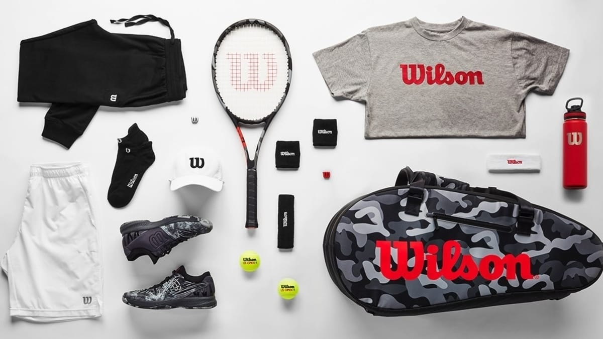 Wilson's new CAMO EDITION Collection includes rackets, bags, shoes and select men's and women's apparel