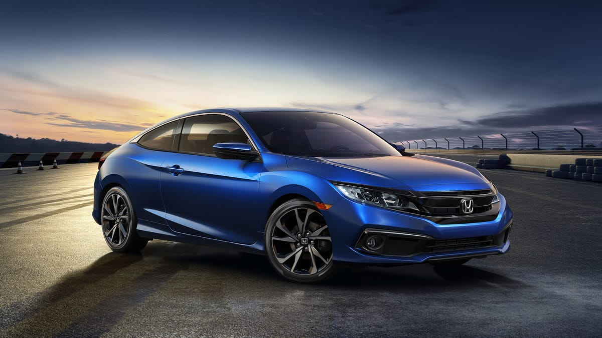 Honda will soon release a newly refreshed Civic Coupe and Sedan for the 2019 model year, with updated styling, a new Sport trim, and Honda Sensing® now standard on all trim levels.