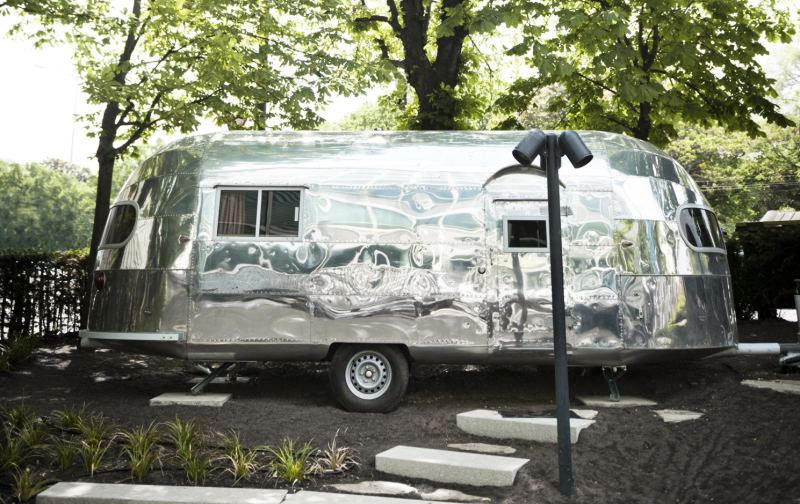 Airstream Trailer - Copyright Hotel Daniel Vienna