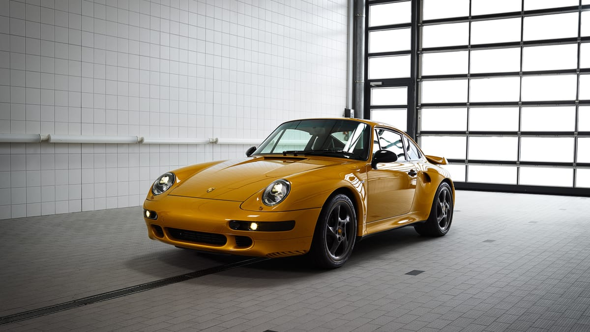 911 Turbo Classic Series: The Collector's Item