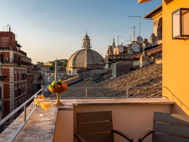Rarity Suites - Ripetta Attic Rome Italy
