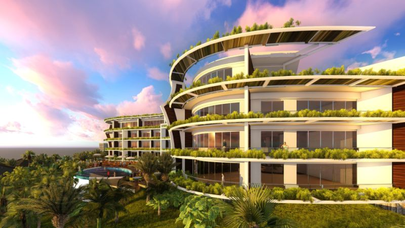 Balangan Vistas Bali Hotel Design Arizona SpaceLineDesign Arch