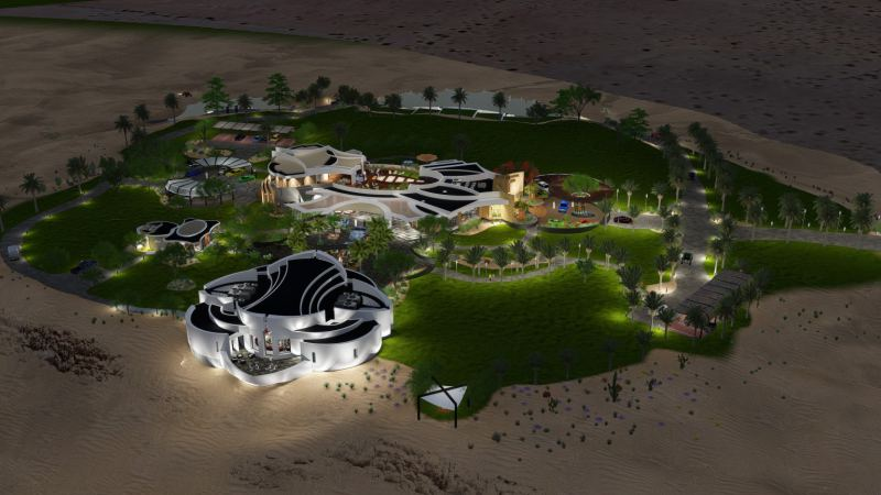 DubaiDesert Retreat SpaceLineDesign