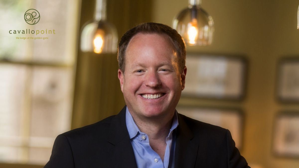 Brendan Carlin, General Manager of Cavallo Point Lodge