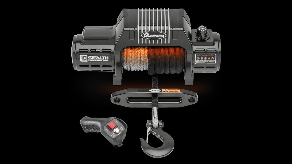 Quadratec Q-Performance Stealth Winch