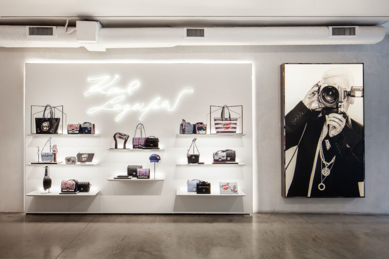 Karl Lagerfeld store, New York - Karl Lagerfeld Group - Photo by Hratch Arbach