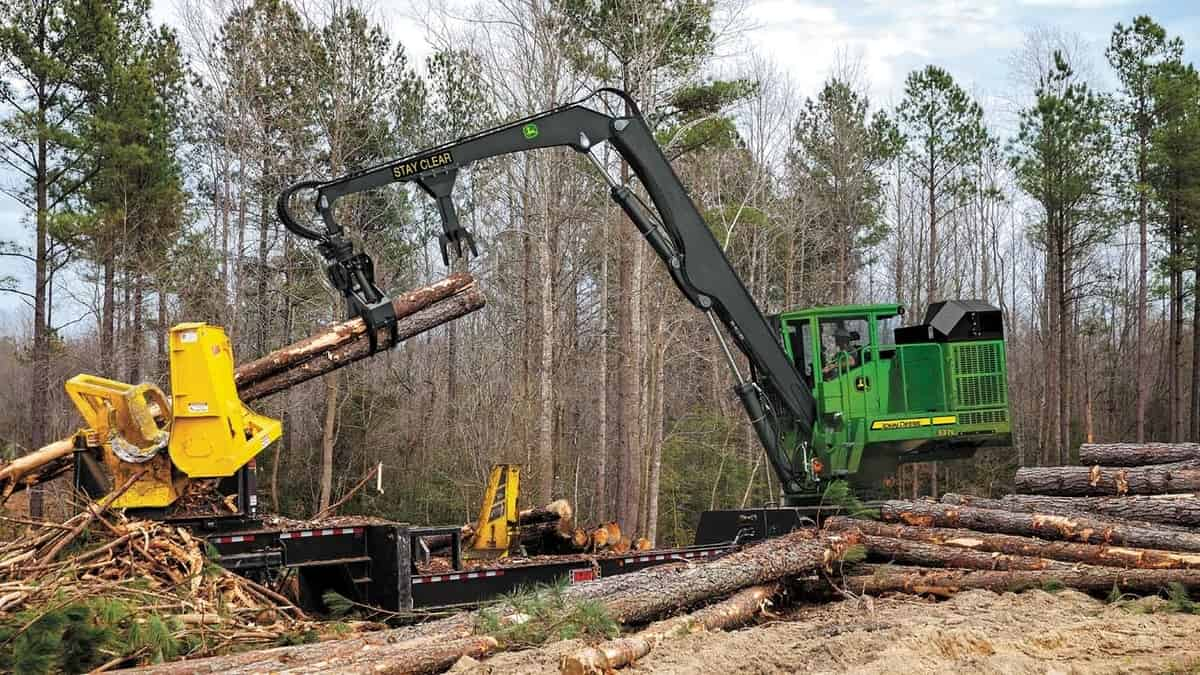 John Deere E-Series Knuckleboom Loaders
