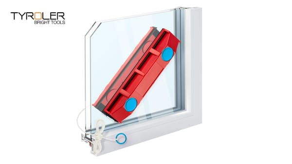 Tyroler Bright Tools - The Glider, Magnetic Window Cleaner