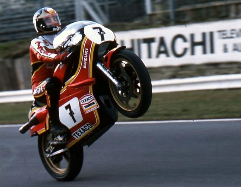 Barry Sheene - copyright Gerard Kampen