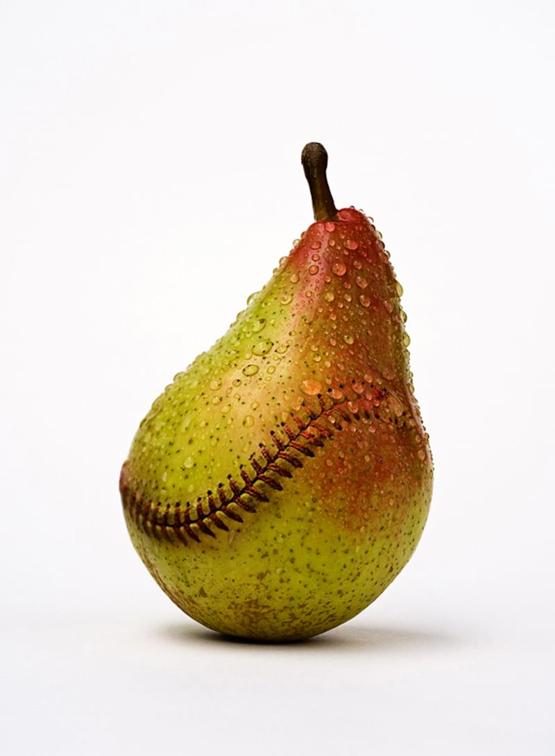 Baseball Pear - Photo by Jose Lai�o