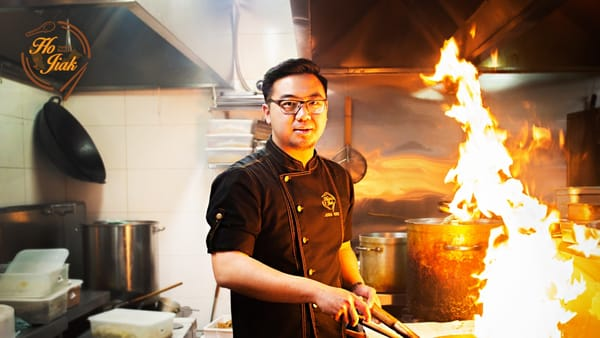 Chef Junda Khoo - Photo by Ellyna Tjohnardi