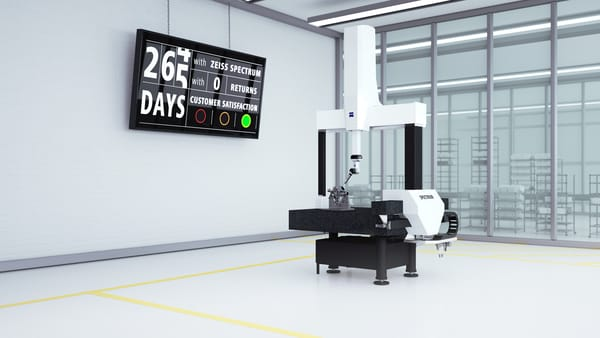 New entry-level SPECTRUM CMM from ZEISS with the latest scanning technology