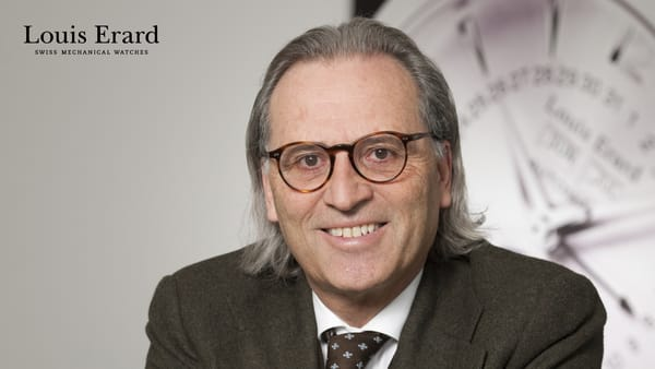 Alain Spinedi, CEO of Louis Erard